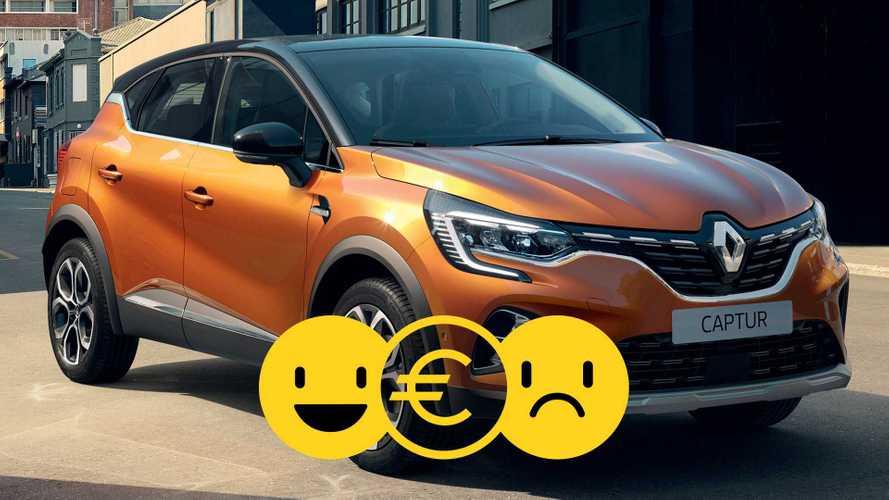 Promozione Renault Captur Life benzina, perché conviene e perché no