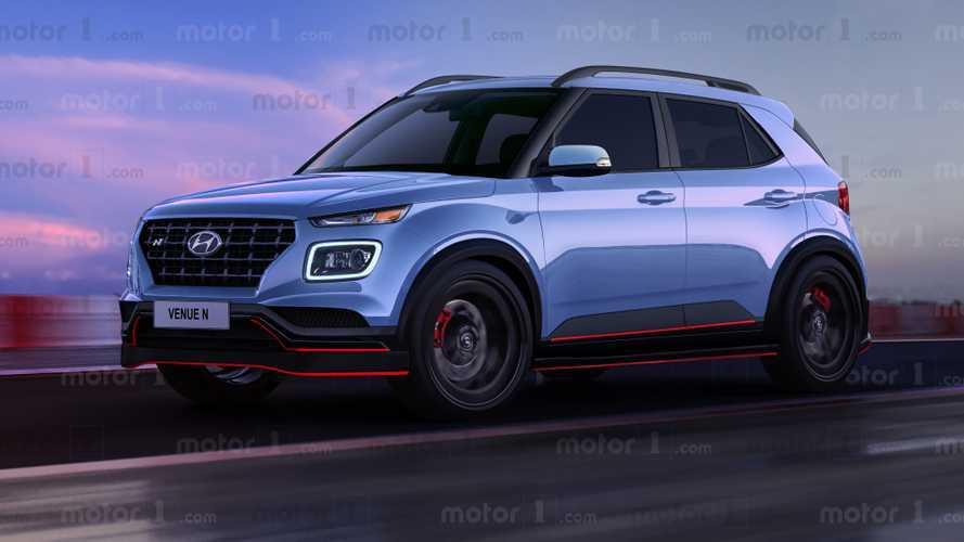 2021 Hyundai Venue N böyle mi görünecek?