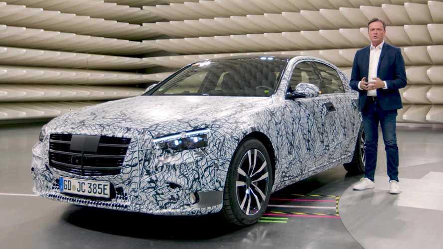 Nuova Mercedes Classe S si scopre, fra ibrido plug-in e realtà aumentata