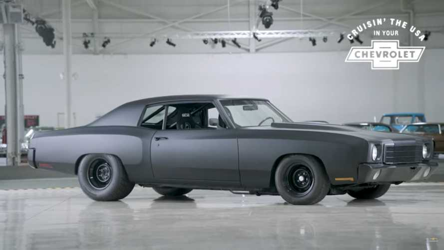 Murdered Out 1970 Monte Carlo Restomod Is Sensationally Sinister