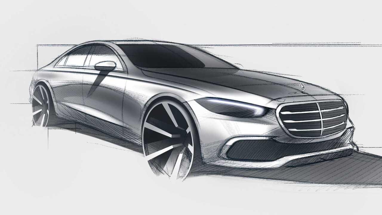 Финальный тизер Mercedes-Benz S-класса