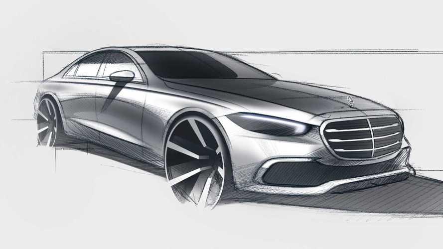 Новый Mercedes-Benz S-класса: последний тизер и минимум камуфляжа