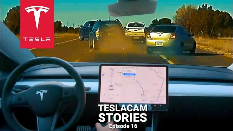Watch Tesla Autopilot Predict A Series Of Crashes: How Does It React?
