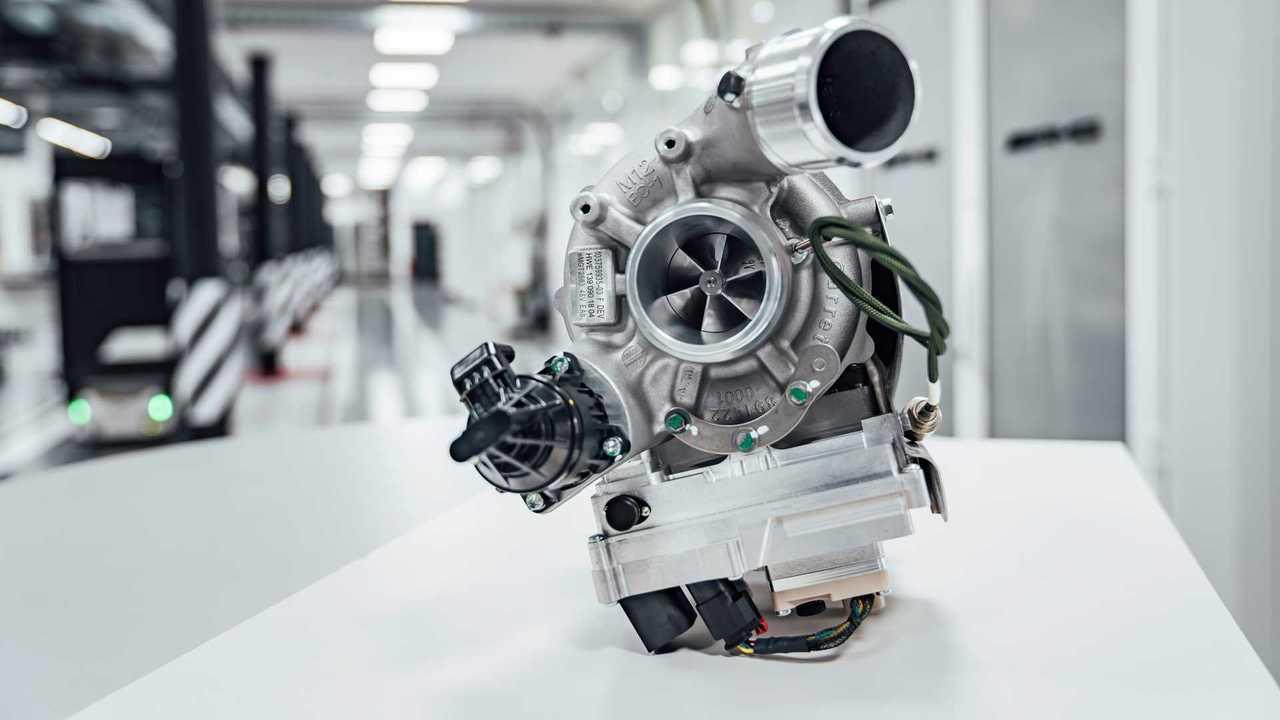 Mercedes-AMG, nuevo turbocompresor eléctrico
