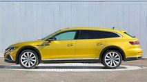 Volkswagen Arteon Shooting Brake 2021, para China