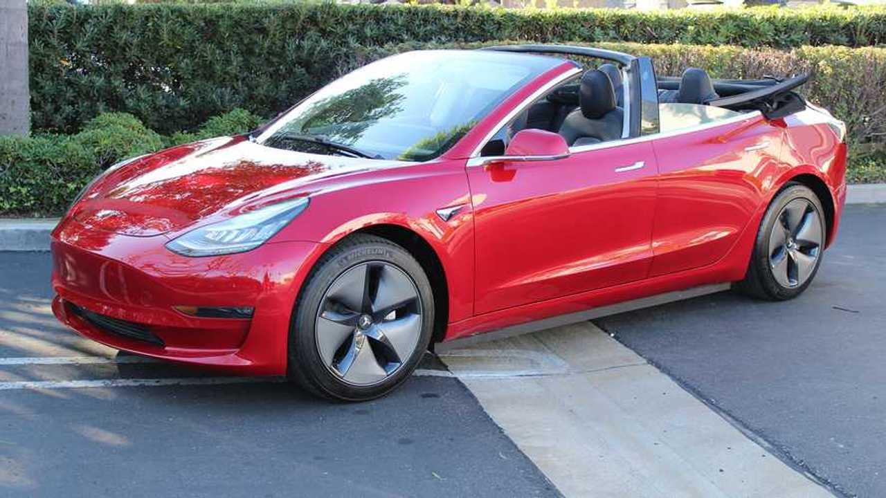Tesla Model 3 Descapotable