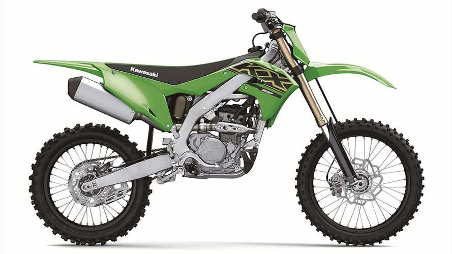 2021 Kawasaki KX250 and KX250XC