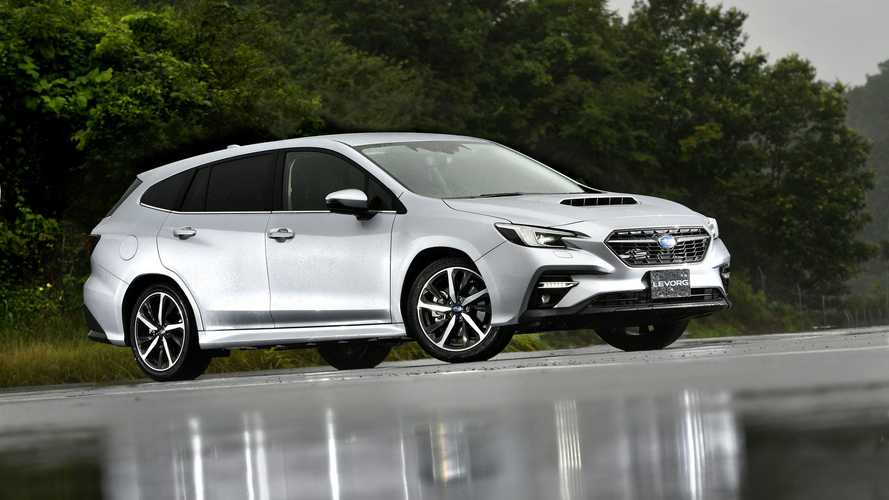 2021 Subaru Levorg production version