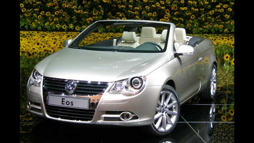 Drei in einem: VW Eos feiert auf der IAA Premiere