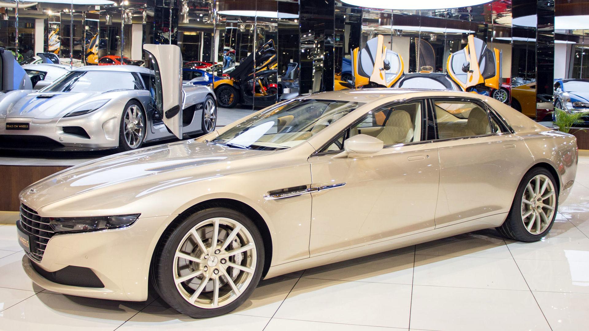 Hardly Used Aston Martin Lagonda Demands 680k