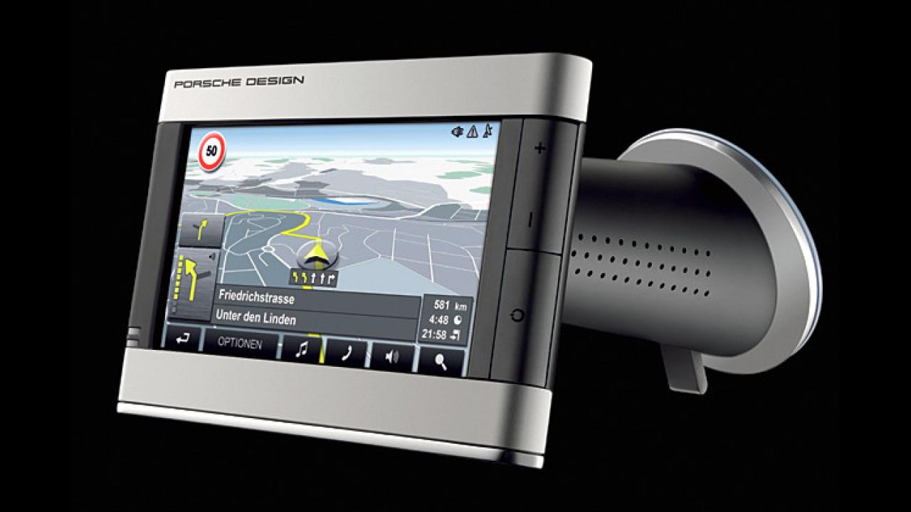 Navi mit Porsche-Design