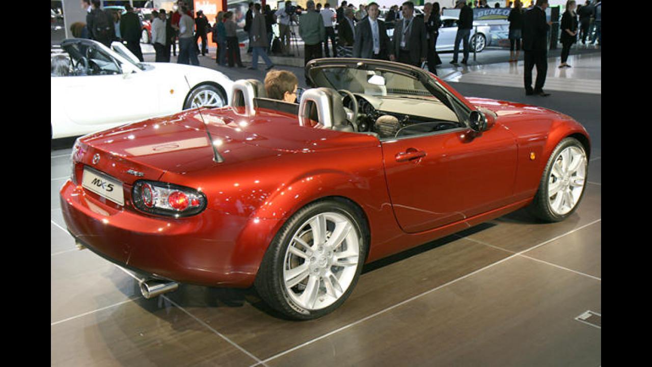 Die Roadster-Ikone Mazda MX-5 geht mit diesem Rohr zu Werke