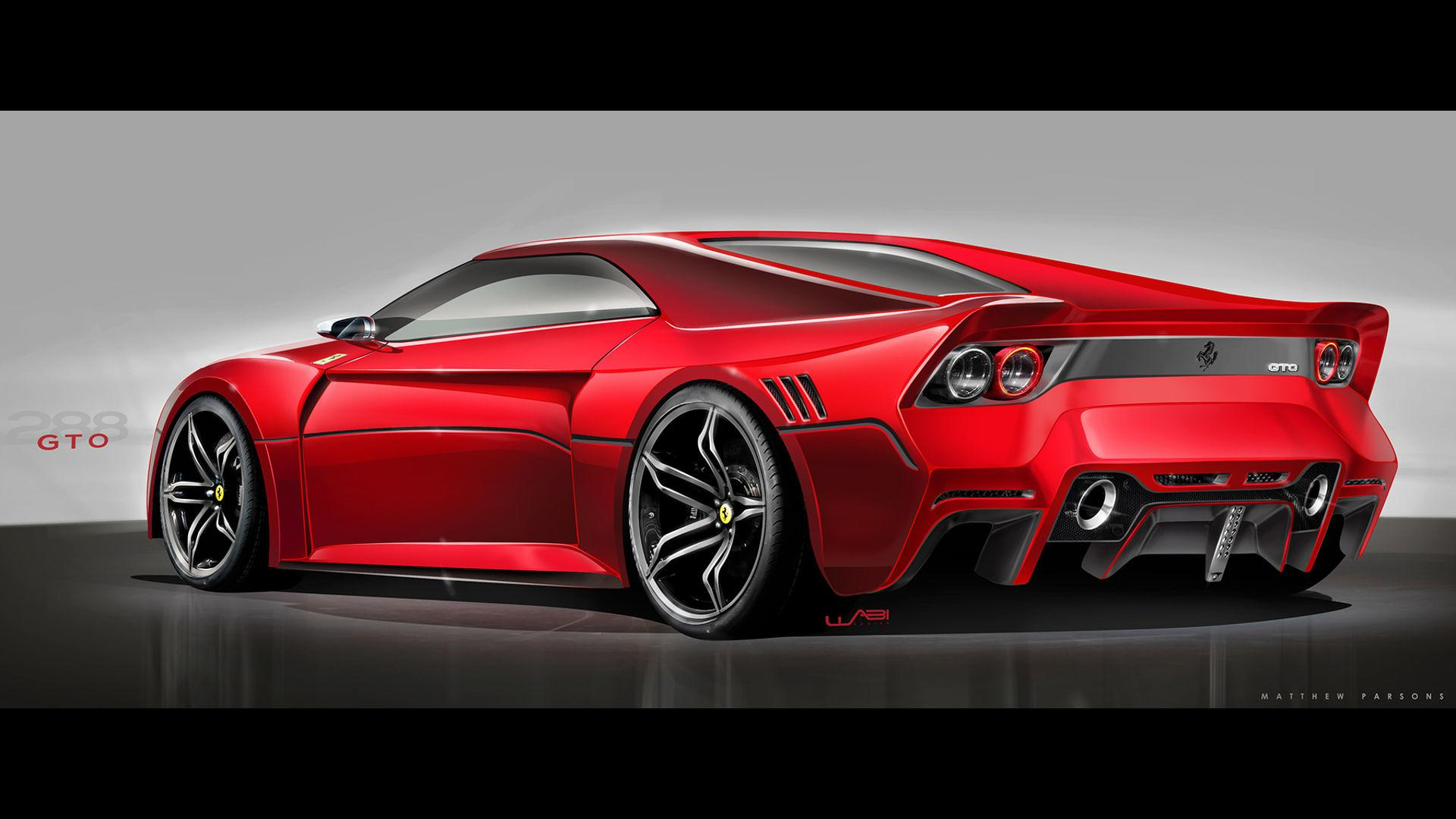 would you like the ferrari 288 gto to come back as this?