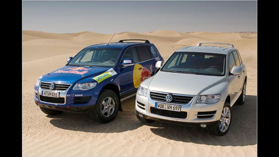 Volkswagen traut sich mit neuem Touareg in die Wüste