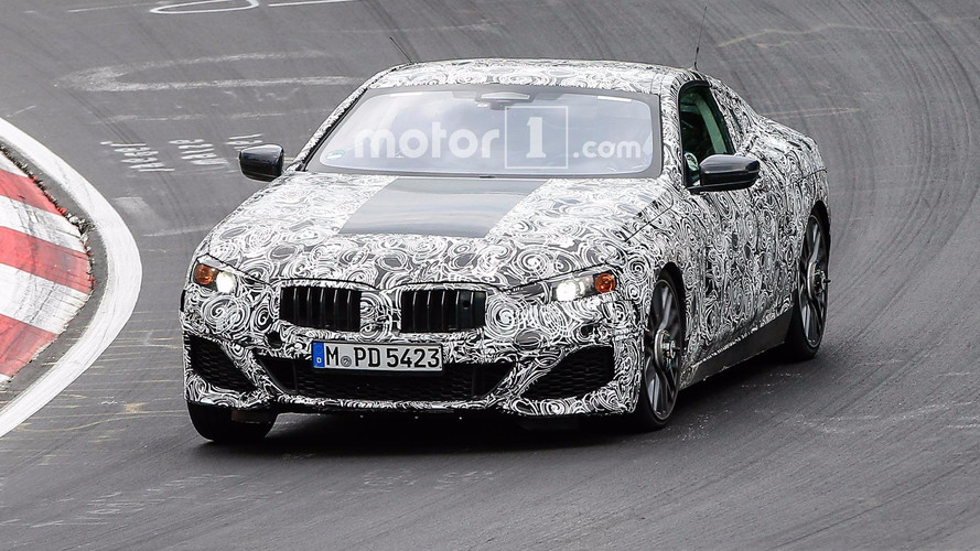 BMW 8 Series Spied With Different Face On Nürburgring