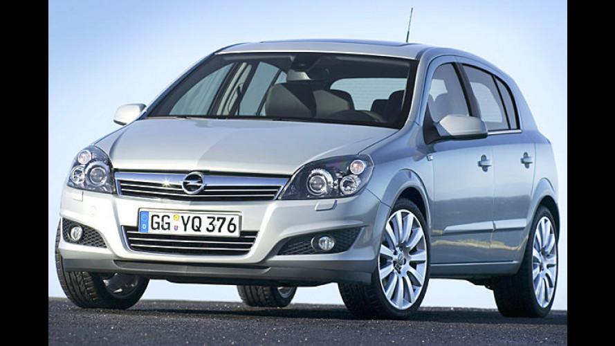 Opel Astra überarbeitet: Mehr Kraft und weniger Durst