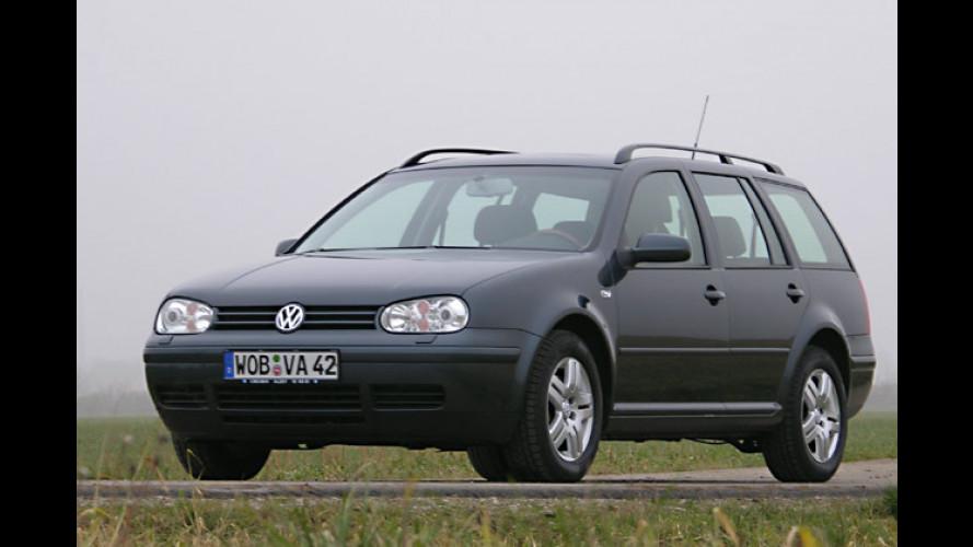 VW Golf Variant 2.0 Bifuel (2004) mit Erdgas-Motor im Test