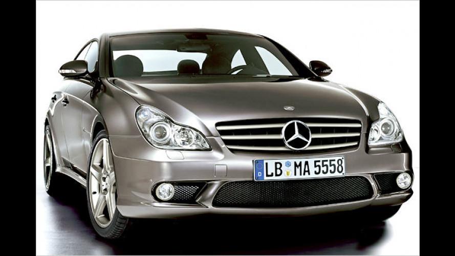 "Mercedes CLS 55 AMG ""IWC Ingenieur"": Das Uhren-Coupé"