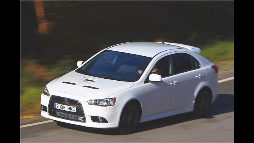 Mitsubishi Lancer Ralliart: Ein Brüderchen für den Evo