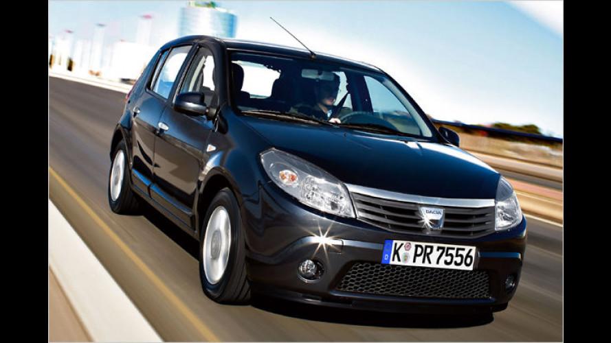 Dacia Sandero und Logan MCV als Autogas-Fahrzeuge