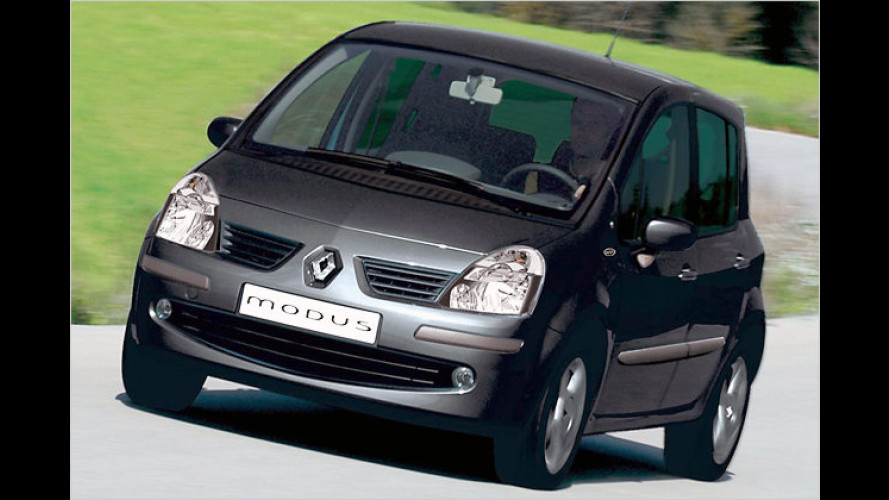 Kleiner Van mit geringem Durst: Renault Modus 1.2 16V TCE