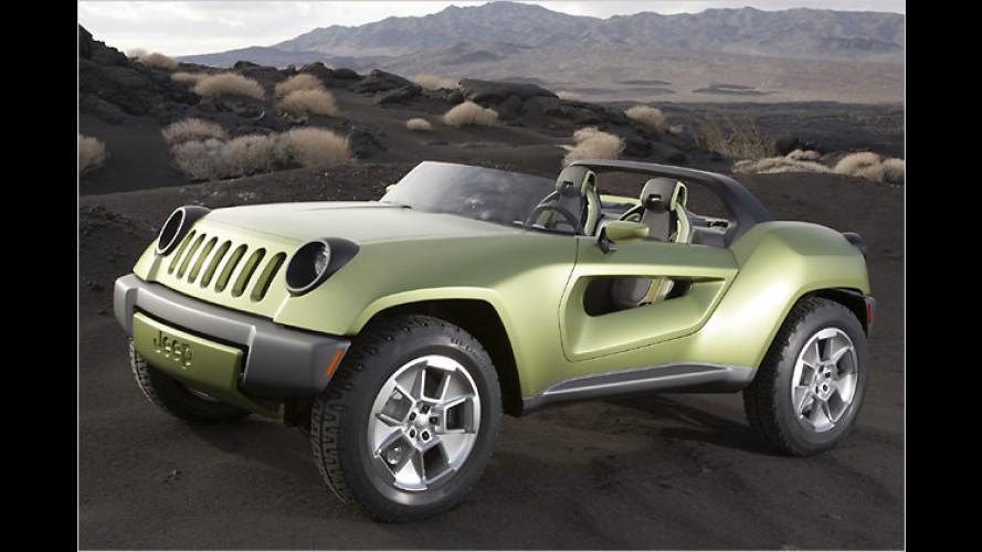 Umweltfreundlicher Offroader: Neue Jeep-Studie Renegade