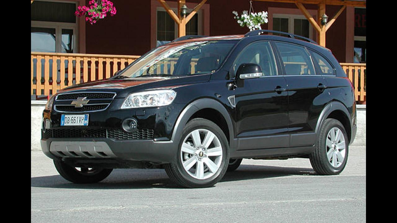 Chevrolet Captiva 2.4 LPG LS 2WD 5-Sitzer (Autogas)