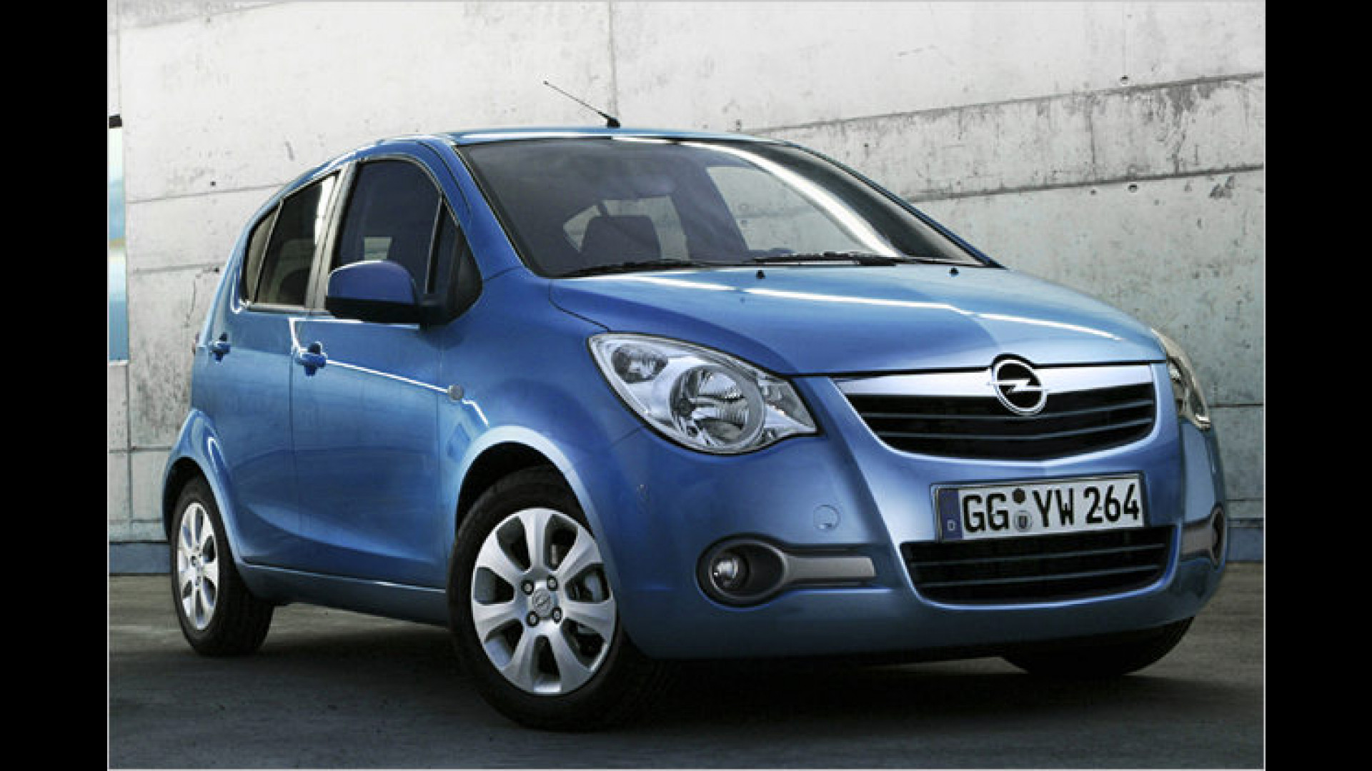2020 Opel Agila Interior