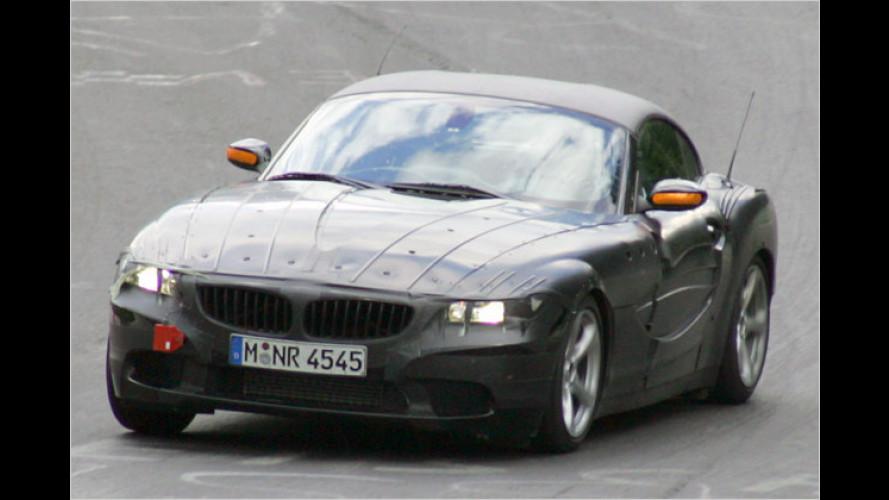 Ins Netz gegangen: Erlkönig des BMW Z4 erwischt