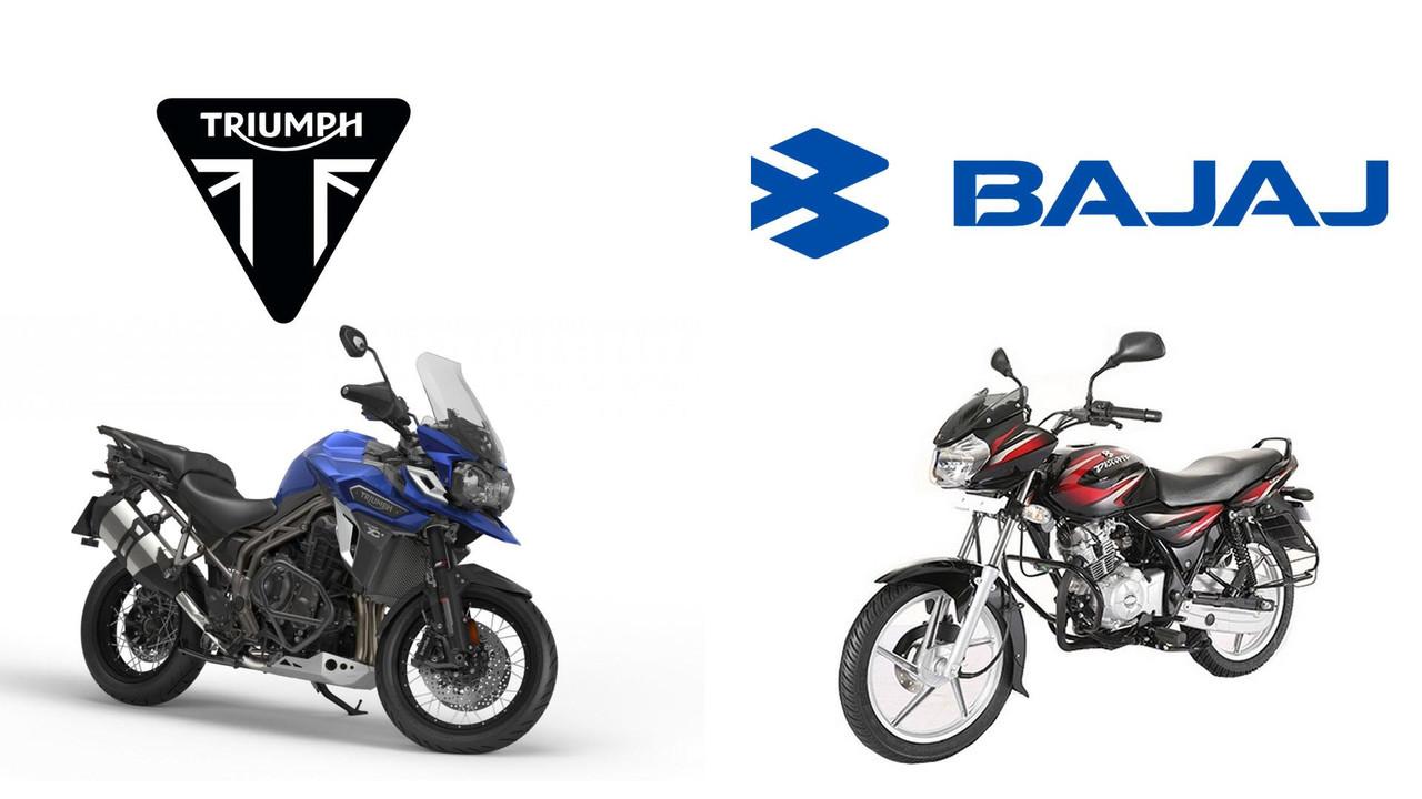 Bajaj e Triumph fazem parceria