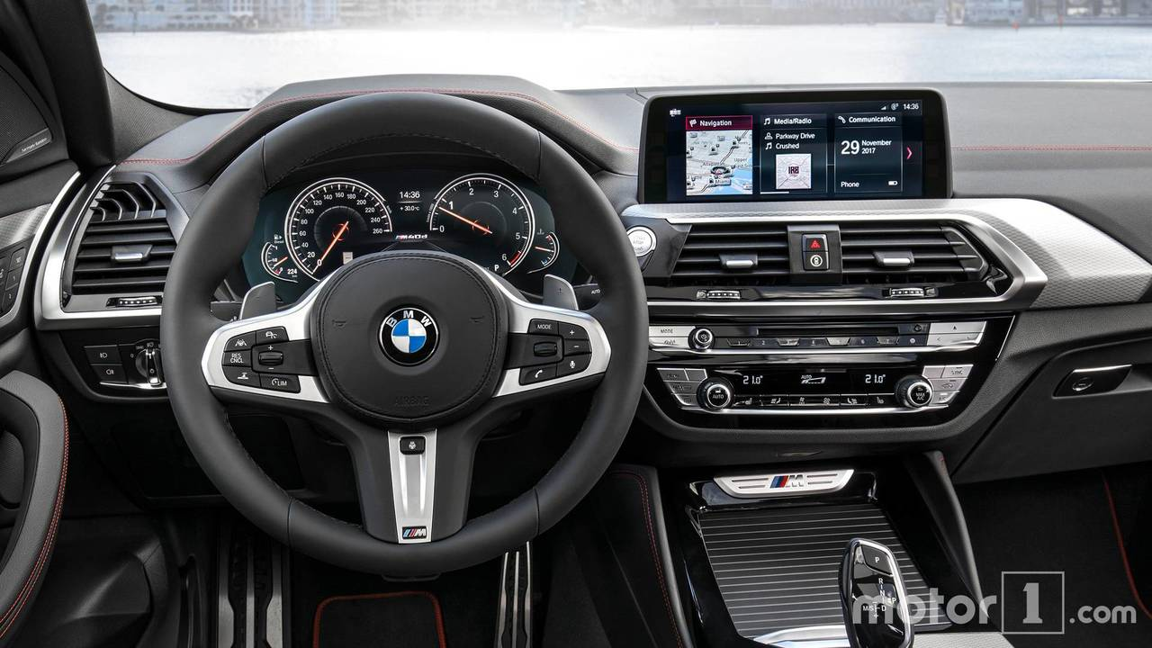 Interior 2018 Bmw X4 Vs 2017