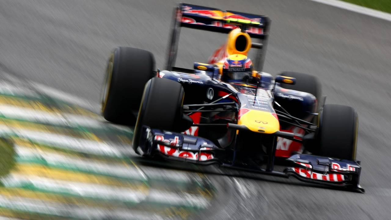 30. El Red Bull Racing RB7 de F1