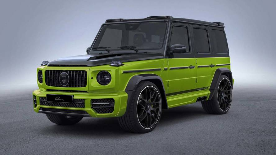 Lumma Design Gives Mercedes G63 A Widebody Kit With 24-Inch Rims