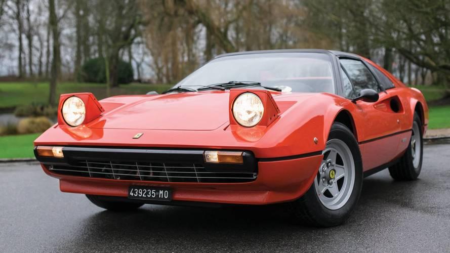Ferrari 308 GTS, el antiguo coche de Gilles Villeneuve