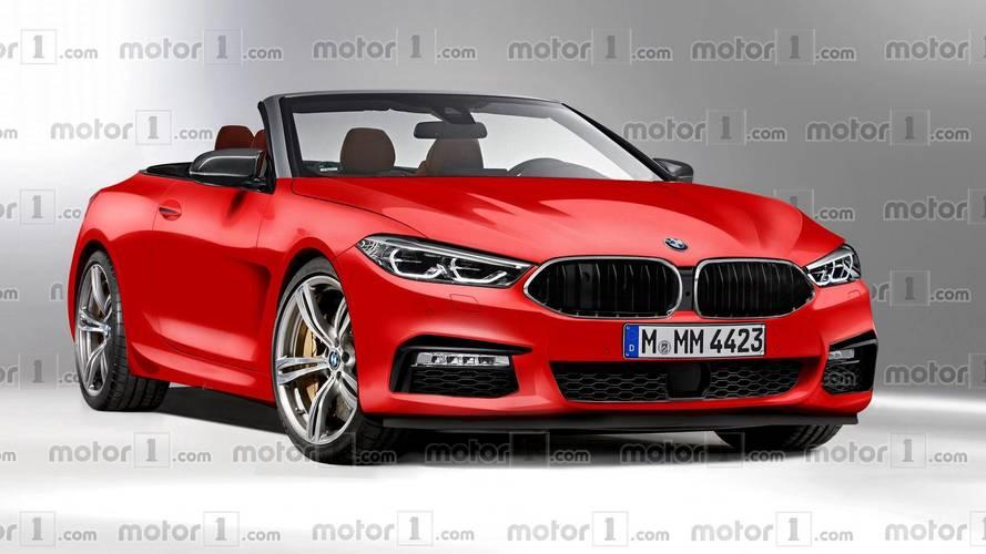 BMW 8 Series Convertible rendering