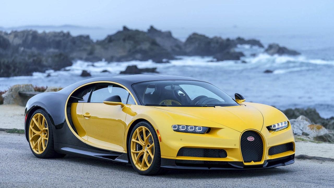 Sechzehnzylinder: 8,0-Liter-W16 von Bugatti