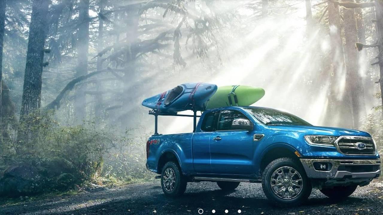 Ford Ranger Hidden Bigfoot