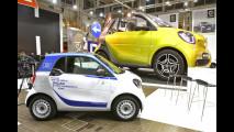 Nuova smart forfour ED, debutto italiano al Motor Show [VIDEO]