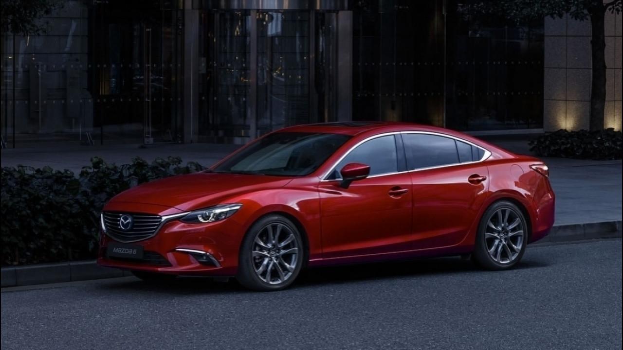 [Copertina] - Mazda 6 restyling, più confort e sicurezza