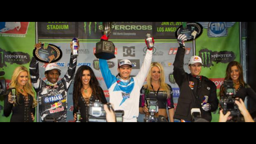 AMA Supercross 2012 Los Angeles: il ritorno di Chad Reed!