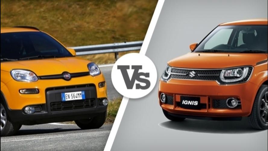 Suzuki Ignis, meglio della Panda 4x4?