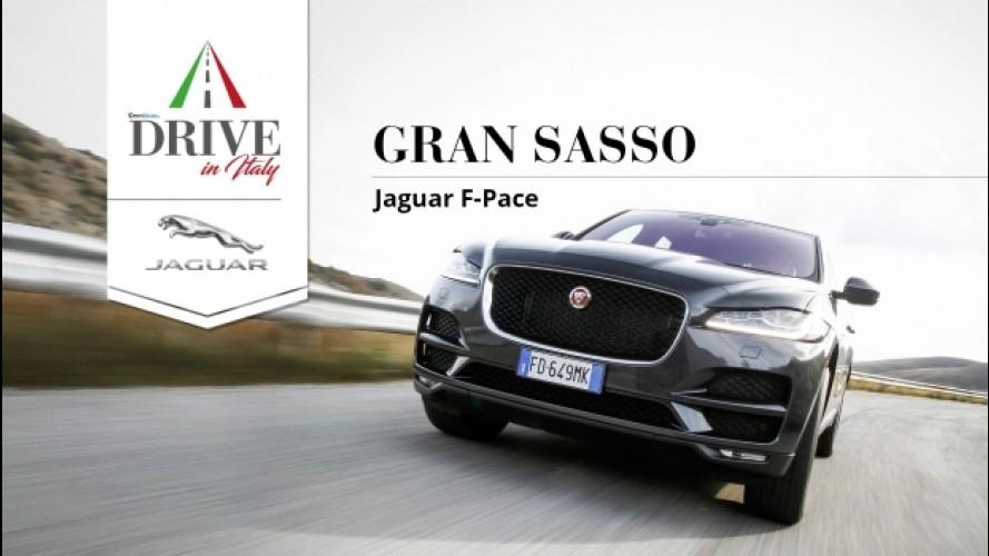 Drive in Italy, sulle strade del Gran Sasso con la Jaguar F-Pace [VIDEO]