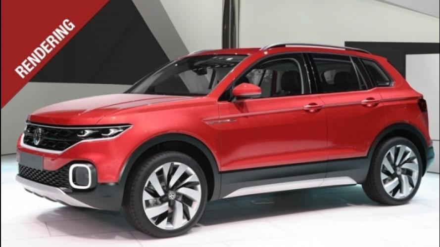 Volkswagen, il mini SUV è in arrivo