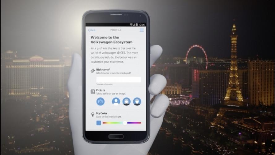 Volkswagen, al CES 2017 arriva l'App per