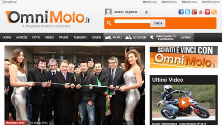 Il Nuovo OmniMoto.it è on-line!