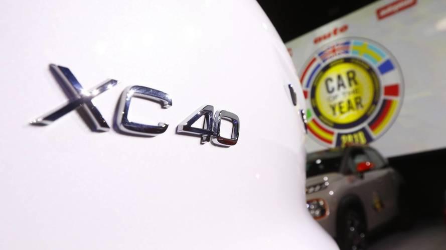 Volvo XC40, Coche del Año en Europa 2018