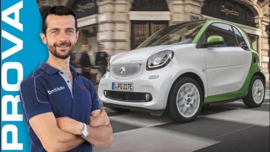 Nuova smart ED, a batterie si guida meglio [VIDEO]