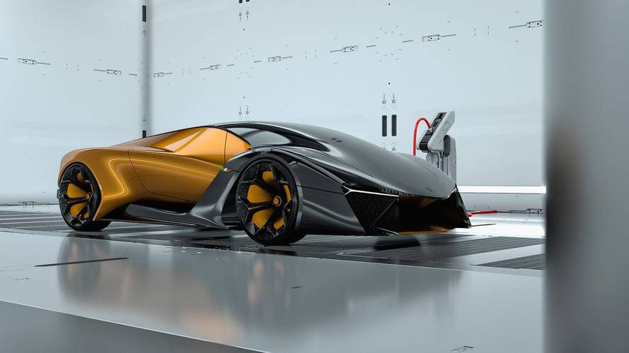 Lamborghini Rendering Imagines The Gold Standard Of Concept Cars