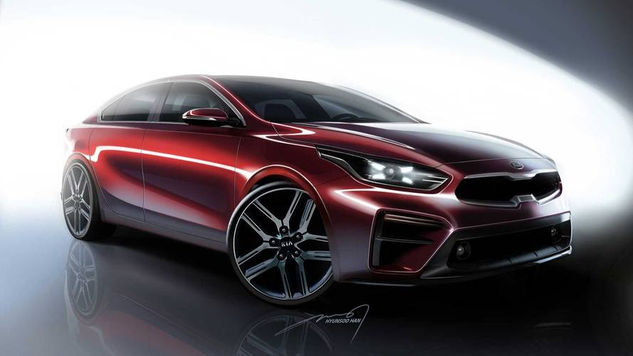 2019 Kia Forte Renderings Preview New Sedan Ahead Of NAIAS