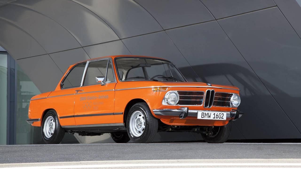 10. 1972 BMW 1602e concept